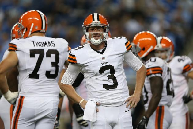 Browns vs Packers: Brandon Weeden and Other Players to Watch in Preseason Tilt
