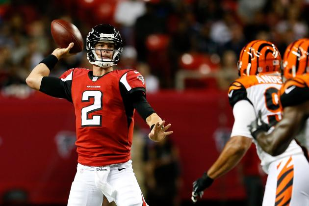 Matt Ryan: Falcons QB Shines in Preseason Versus Cincinnati