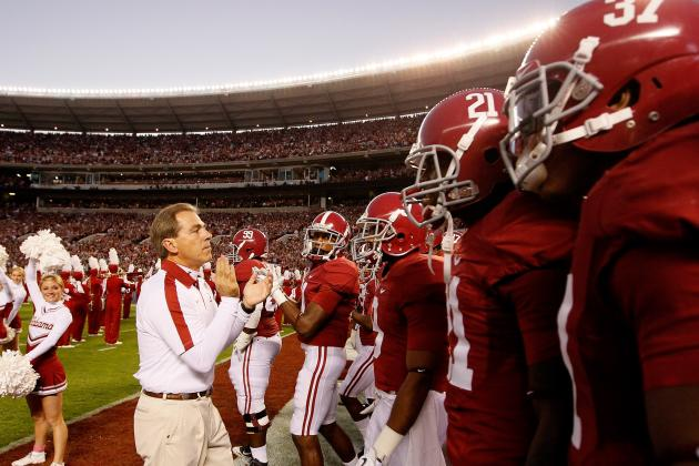 Alabama Football: Predicting Where the Tide Will Rank in the AP Preseason Poll