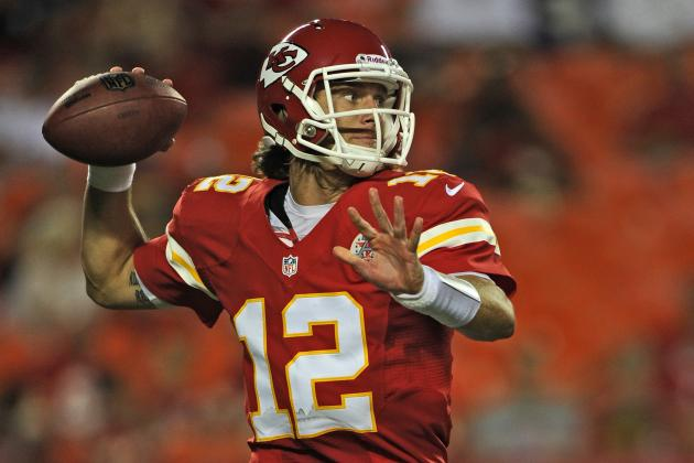 Ricky Stanzi's Game with Chiefs No. 2 Offense Against Rams Means a Lot for Him