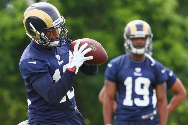Chris Givens Will Give St. Louis Rams the Deep Threat They're Missing