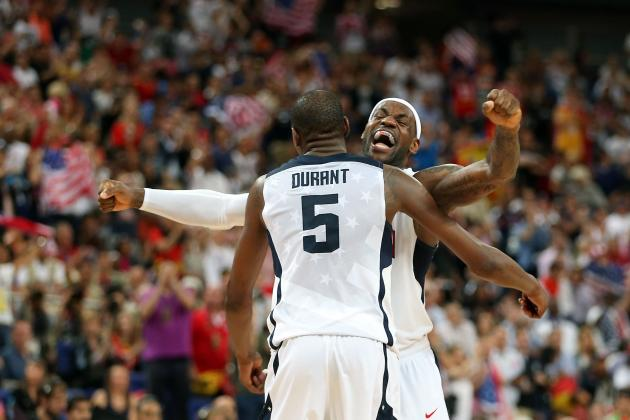 Olympic Men's Basketball: Top Individual Performances by Team USA