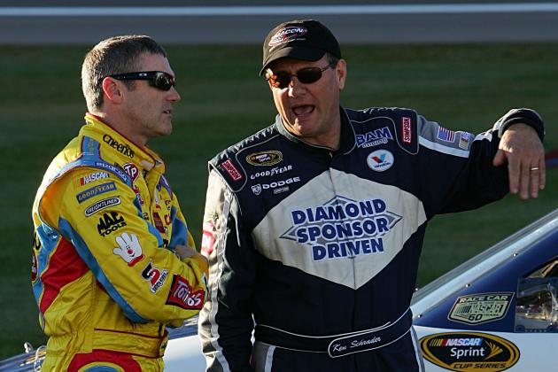 Bobby Labonte; Schrader to Set Milestones at Michigan