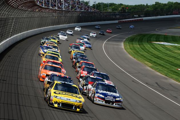 Pure Michigan 400 2012: Start Time, Lineup, TV Schedule and More