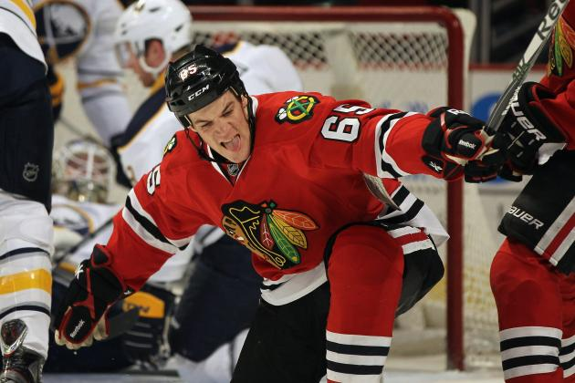 Chicago Blackhawks: Can Andrew Shaw Top Last Season?