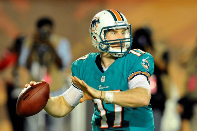 Miami Dolphins Making the Right Choice Starting Ryan Tannehill vs. Panthers