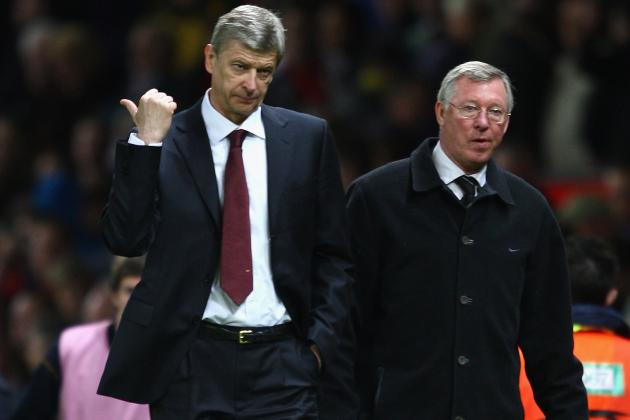 Sir Alex Ferguson Praises Arsene Wenger's Poker Face During RVP Deal