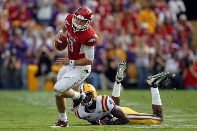 Arkansas Football: Why Neither Knile Davis nor Tyler Wilson Will Win the Heisman