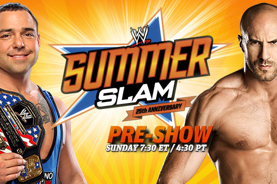 WWE Summerslam 2012: Pre-Show Further Buries the United States Title