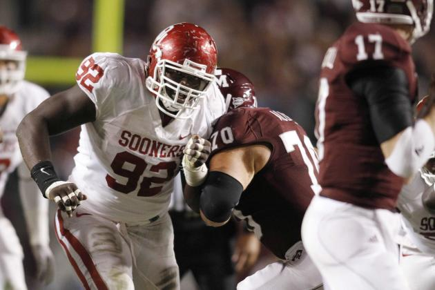 Oklahoma Football: Senior Defensive Tackle Stacy McGee Suspended Indefinitely