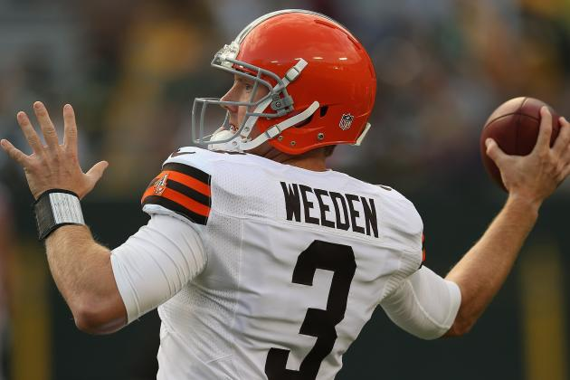 Browns vs Packers: Weeden Shows Improvement, but Browns Shouldn't Trade McCoy