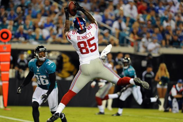 New York Giants: Will Martellus Bennett Have a Breakout Year in 2012?