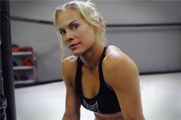 Tate vs. Kedzie: MMA to Feature Inspiring Story with Julie Kedzie on Strikeforce
