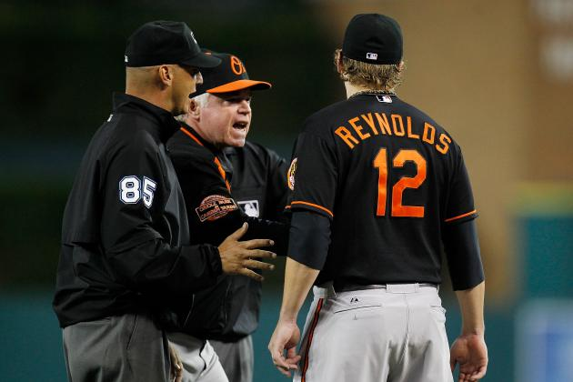Reynolds, Showalter Ejections: Futher Proof MLB Umpiring Needs to Be Dealt With