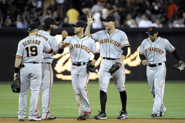 San Francisco Giants' Magic Number to Win the NL West Is 43