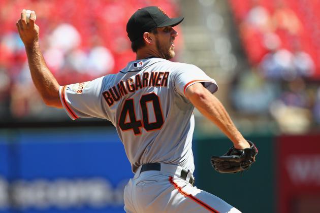 2012 Fantasy Baseball Projections: How Good Is Giants' Madison Bumgarner?