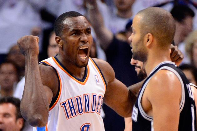 Report: Serge Ibaka Signs 4-Year, $48 Million Extension with Thunder