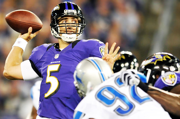 NFL Preseason 2012: Joe Flacco and the Baltimore Ravens' Week 2 Standouts