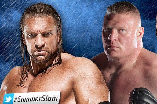 WWE SummerSlam Preview: Brock Lesnar Needs to Beat Triple H