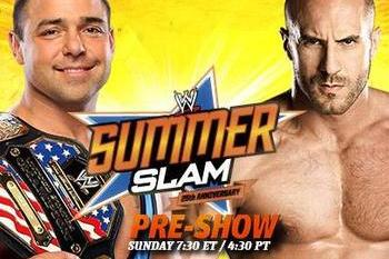 WWE SummerSlam 2012 Live Stream: Watch the Free U.S. Championship Bout