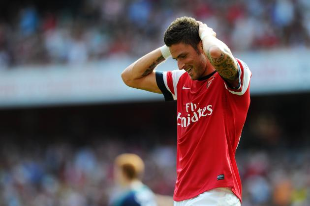 Olivier Giroud Will Come Back Stronger from His Difficult Arsenal Debut