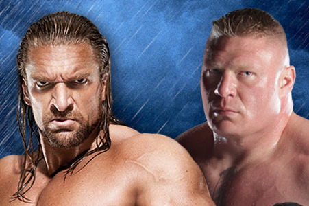 WWE Summerslam 2012: Triple H vs. Lesnar, Will There Be Blood?