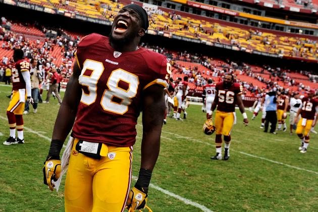 Brian Orakpo Injury: Redskins LB Knocked Out of Game With Injured Shoulder