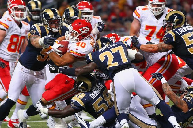 Chiefs vs. Rams: St. Louis' Biggest Winners and Losers from Preseason Week 2