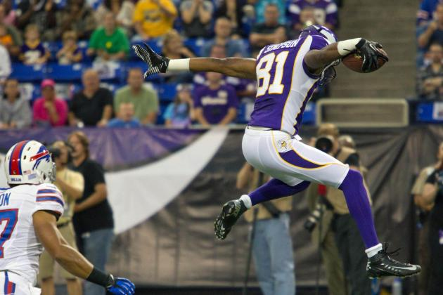 Fantasy Football: Don't Sleep on Minnesota Vikings Receiver Jerome Simpson