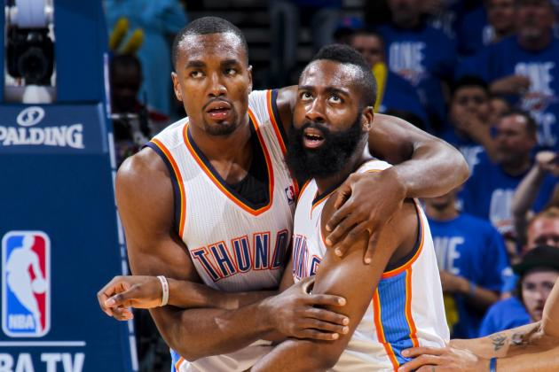 NBA News: What Serge Ibaka Extension Means for James Harden