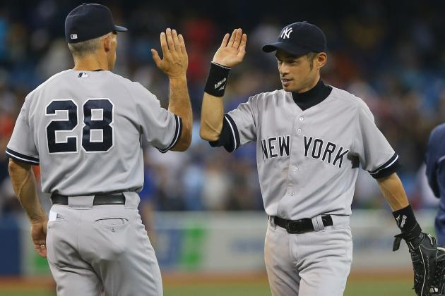 MLB Power Rankings: Yankees Back on Top...Again