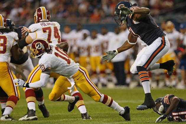 Washington Redskins: RG3 Struggles, Kirk Cousins Shines vs. Chicago Bears