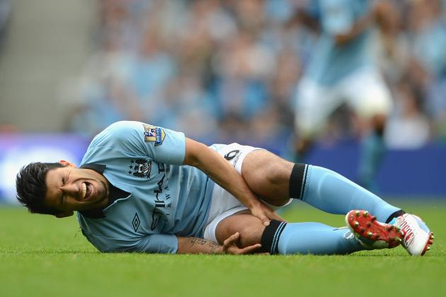 Sergio Aguero Injury: Updates on Manchester City Star's Knee Injury