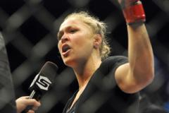 Ronda Rousey Calls Out Cyborg After 54-Second Win over Sarah Kaufman