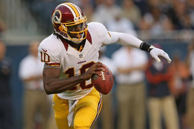 Robert Griffin III: Fantasy Draft Value, Red Flags & Predictions for Redskins QB