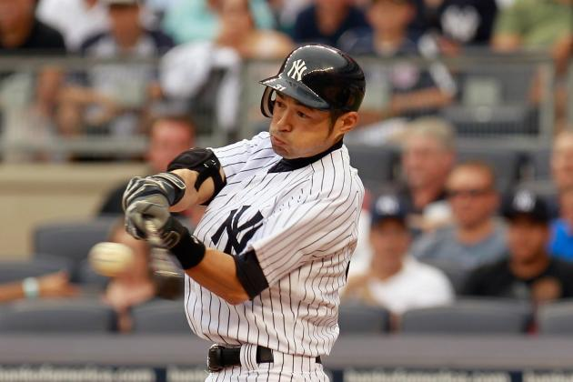 Should Ichiro Suzuki Bat Leadoff for the Yankees in the Playoffs?