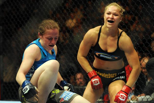 Ronda Rousey vs. Sarah Kaufman: Video Highlights from Saturday's Fight