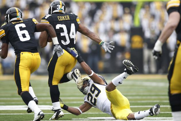 Iowa Football 2012: Marcus Coker Moving On, Are Hawkeyes Doing the Same?