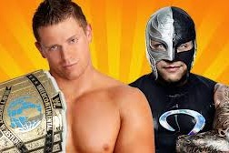 WWE Intercontinental Championship: The Miz [c] vs Rey Mysterio [Photo courtesy of ibtimes.com]