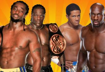 WWE Tag Team Championship: Kofi Kingston and R-Truth vs Prime Time Players [Photo courtesy of wwe.com]