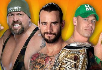 WWE Championship: Big Show vs CM Punk [c] vs John Cena [Photo courtesy of wwe.com]