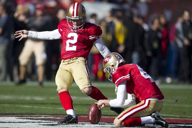 Fantasy Football 2012: David Akers Headlines Countdown of Top 25 Kickers