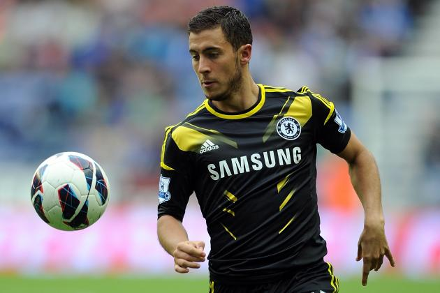 Eden Hazard: Good and Bad Points from Chelsea Star's EPL Debut