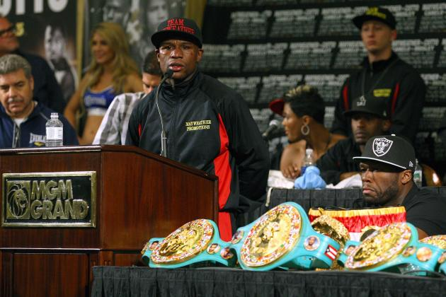 Floyd Mayweather: Ranking Opponents Money May Should Box in Return to Ring