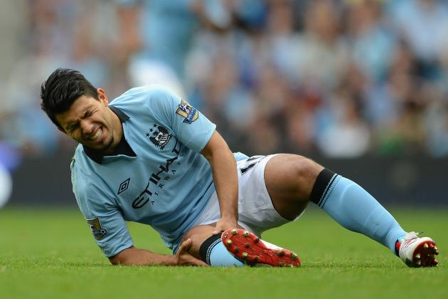 Sergio Aguero: What His Injury Means to Manchester City