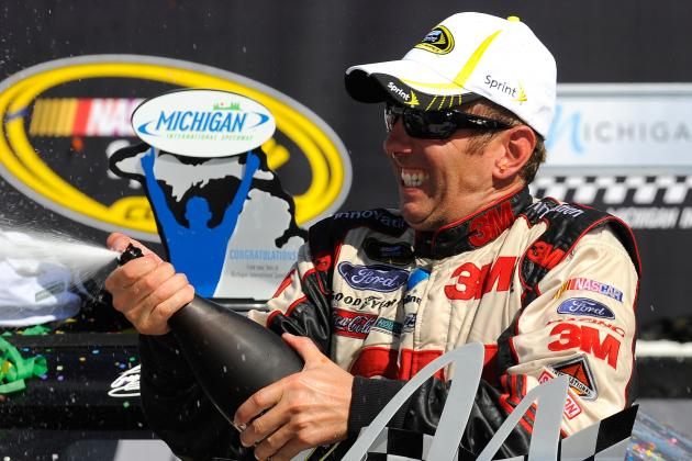 Greg Biffle's Ford Takes Michigan 400