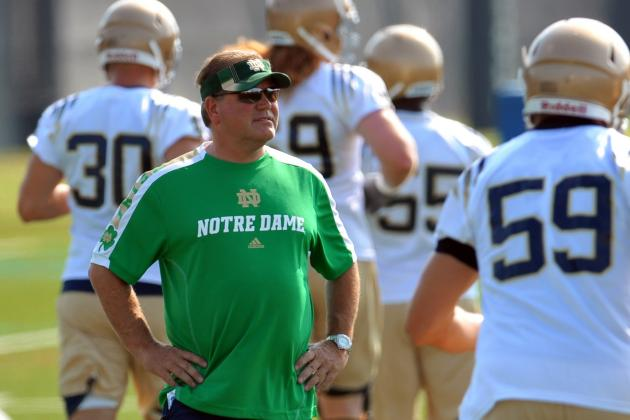 Notre Dame Football: What If It All Goes Wrong in 2012?