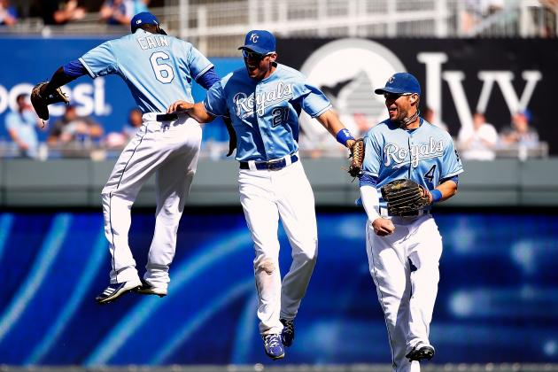 Kansas City Royals Move into 3rd Place in the AL Central