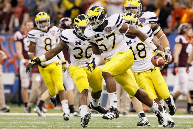 Michigan Football: No Surprise If Toussaint, Clark Benched for Alabama Opener