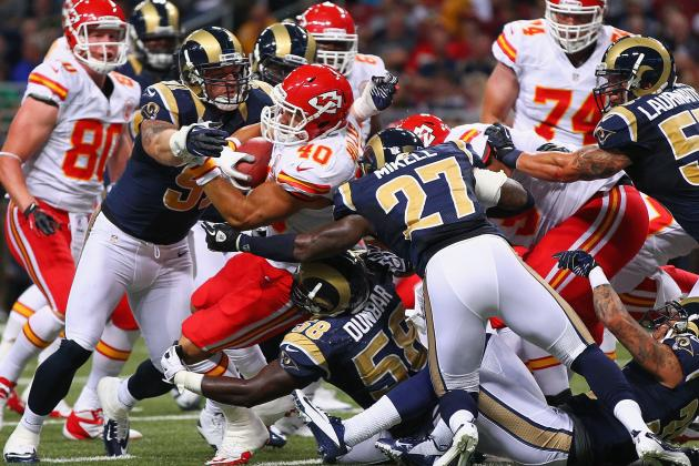 2012 NFL Preseason: Kansas City Chiefs Regress in 31-17 Loss to St. Louis Rams